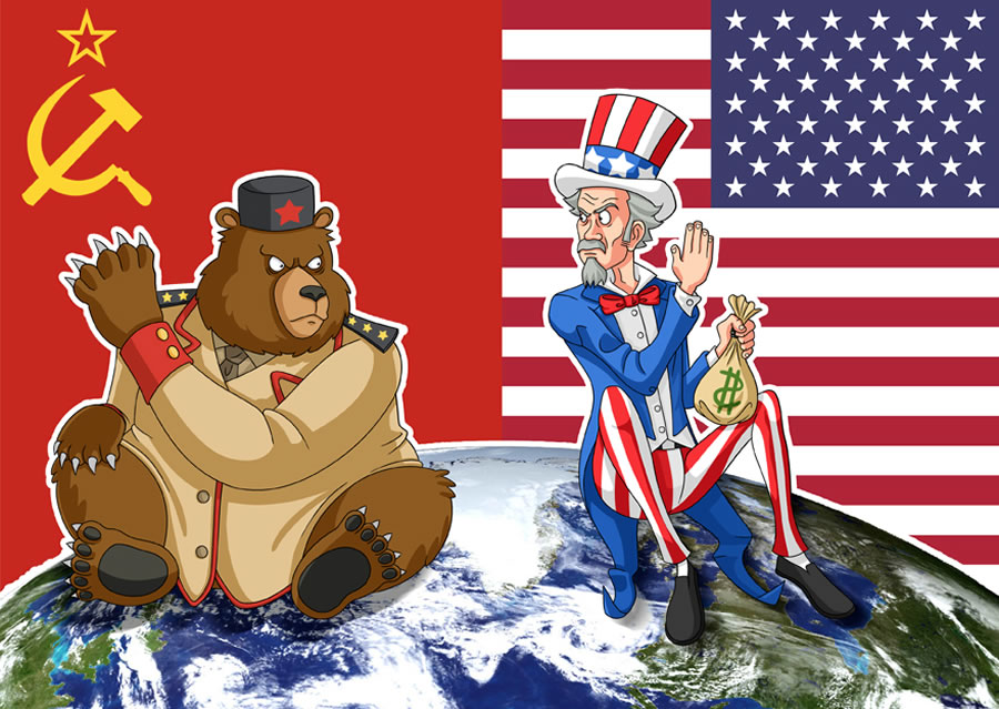 america russia and the cold war essay