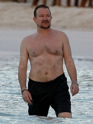 Average shirtless guys