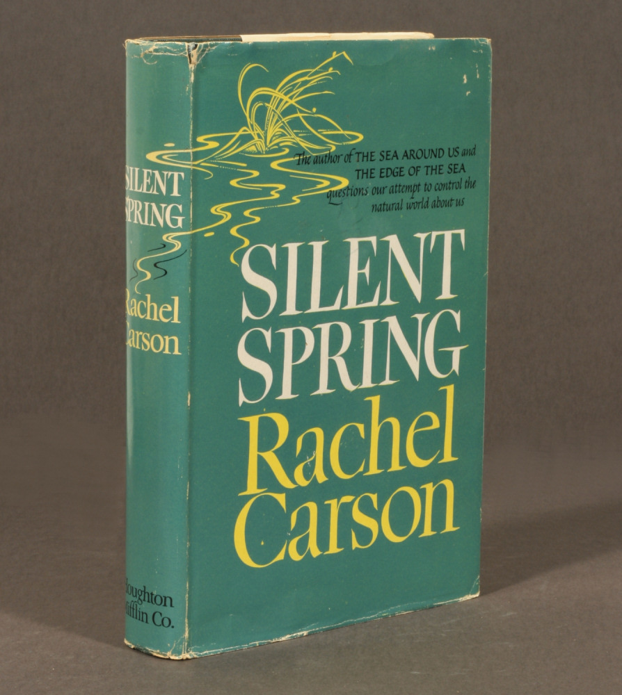 Silent Spring by Rachel Carson... what has changed regarding environment since book was written