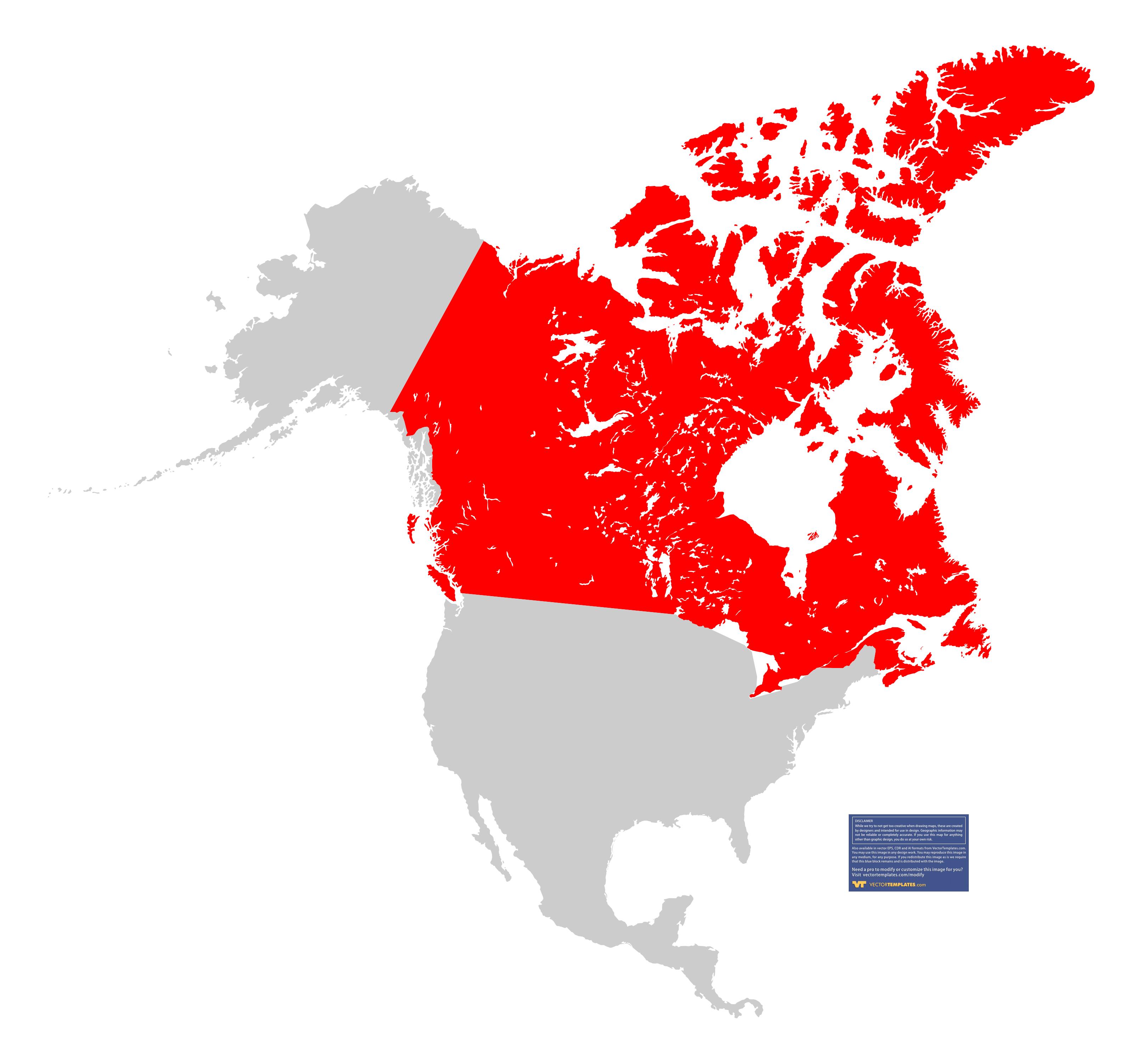 FileBlankMapUSAstatesCanadaprovinces HI Closersvg North America - United states map vector free ai