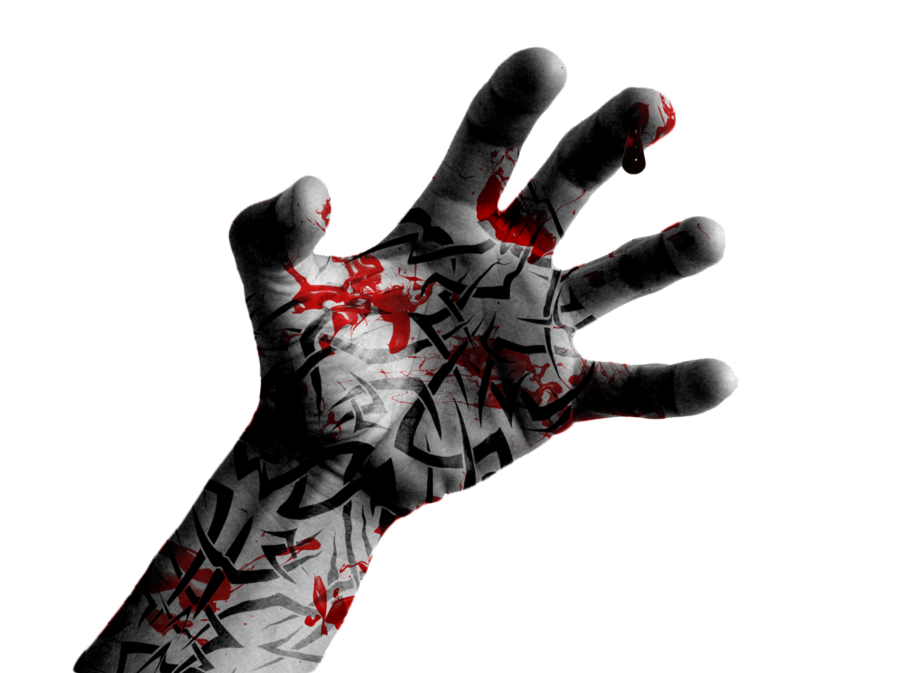 Images of Bloody Hand Png - #rock-cafe