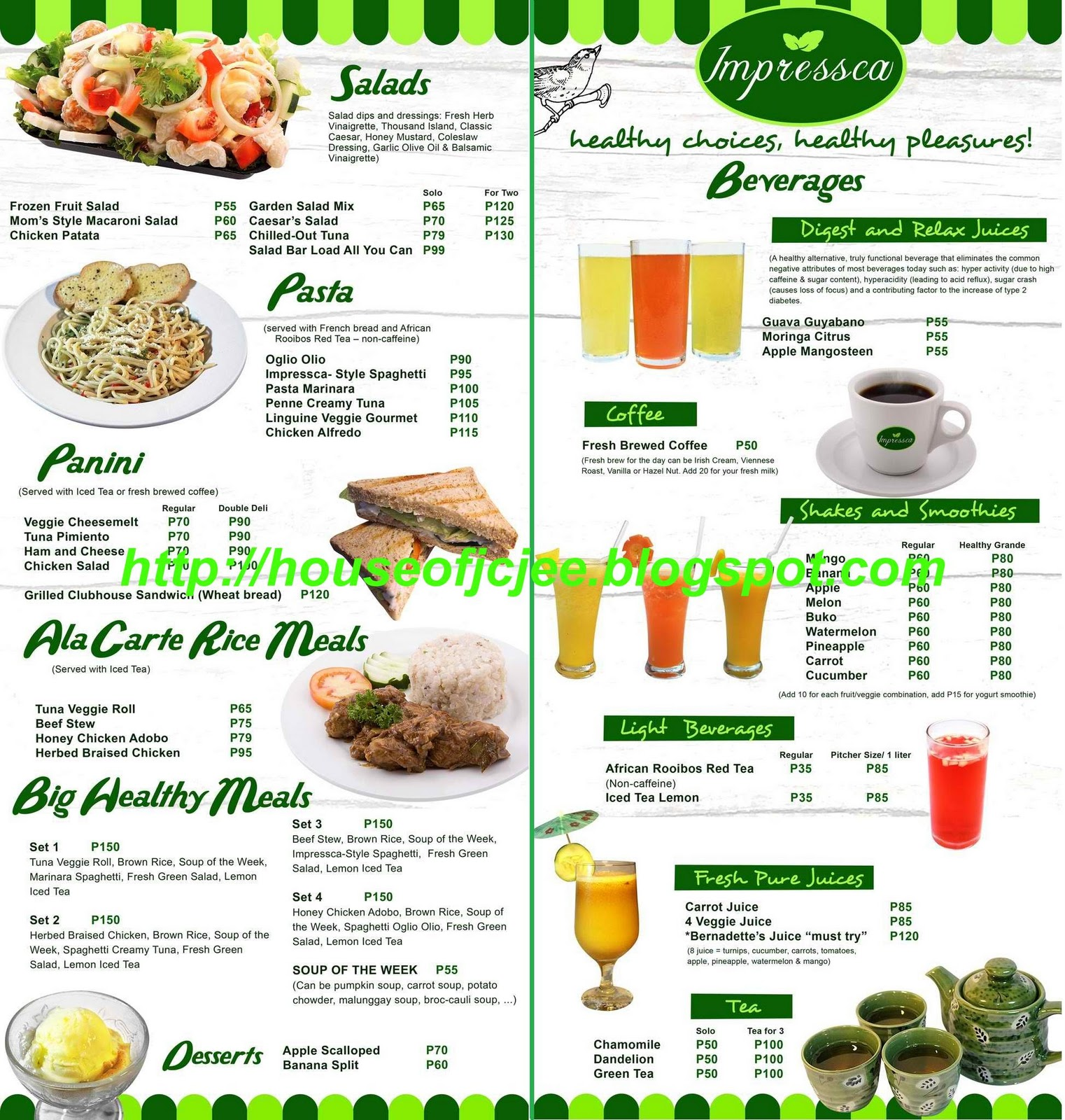 Healthy Food Bangkok