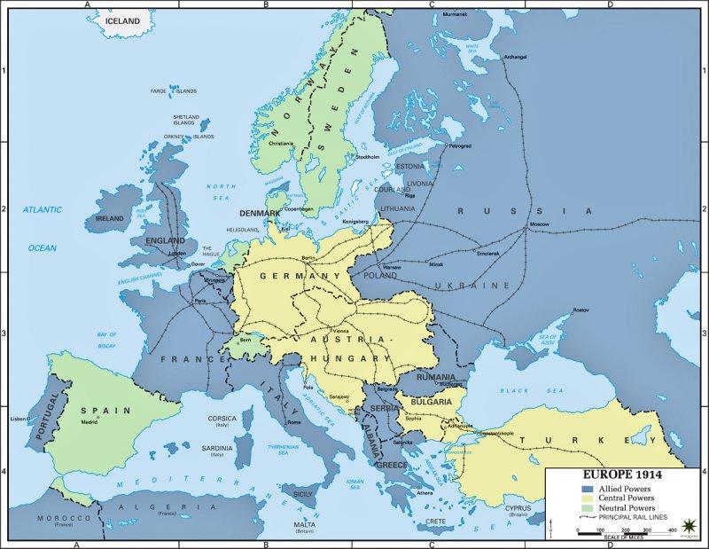 1 Verdenskrig By 08i11 On Emaze
