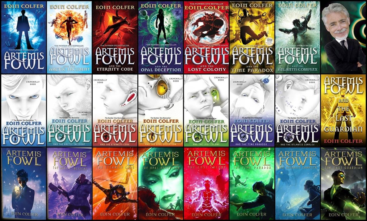 Artemis Fowl Book Project