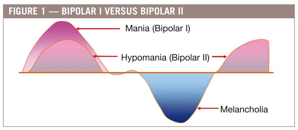 all types of bipolar disorder