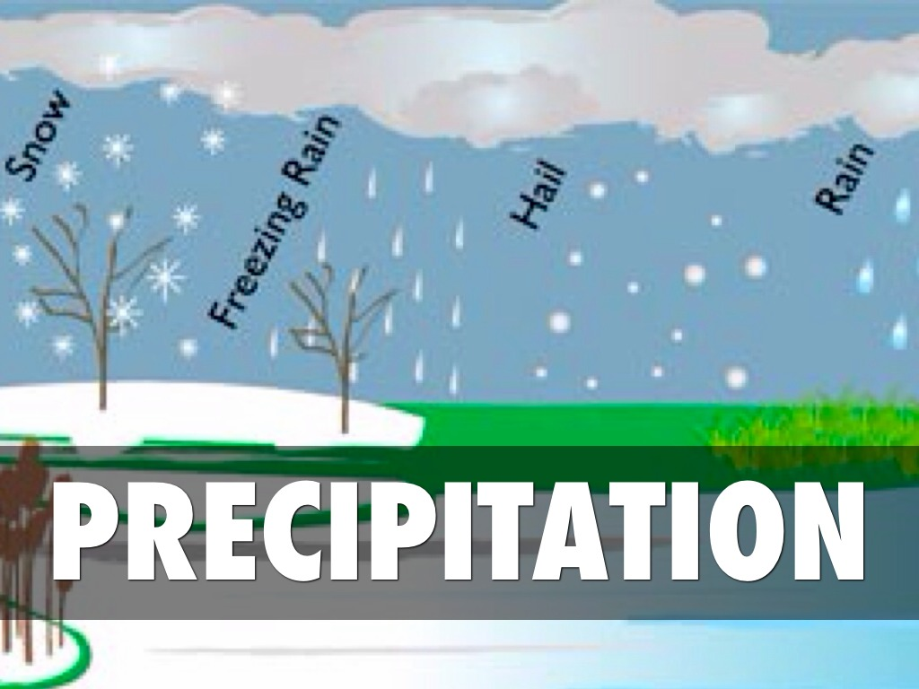 Image result for WATER CYCLE WITH PRECIPITATION