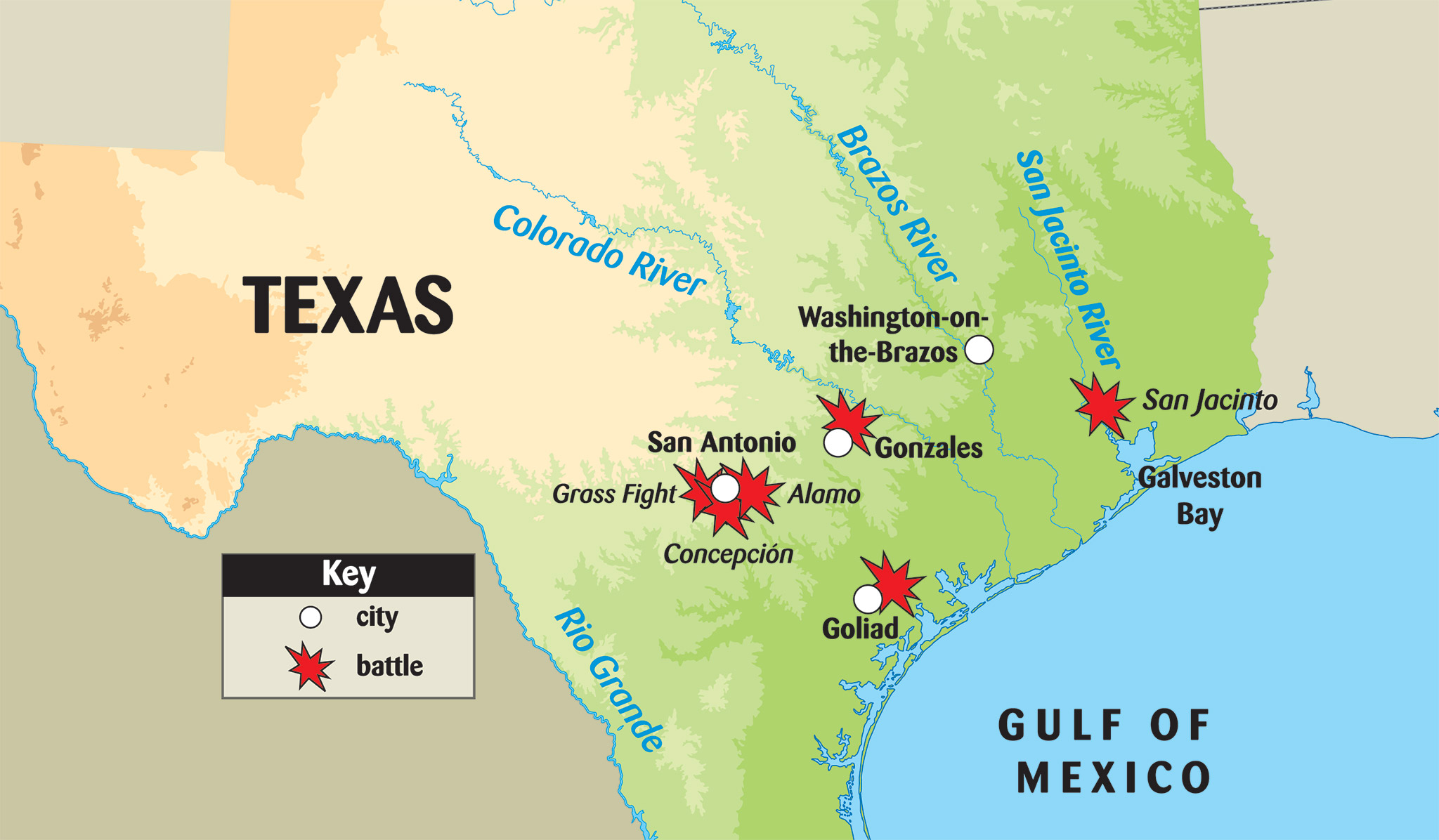 Events of the Texas on emaze