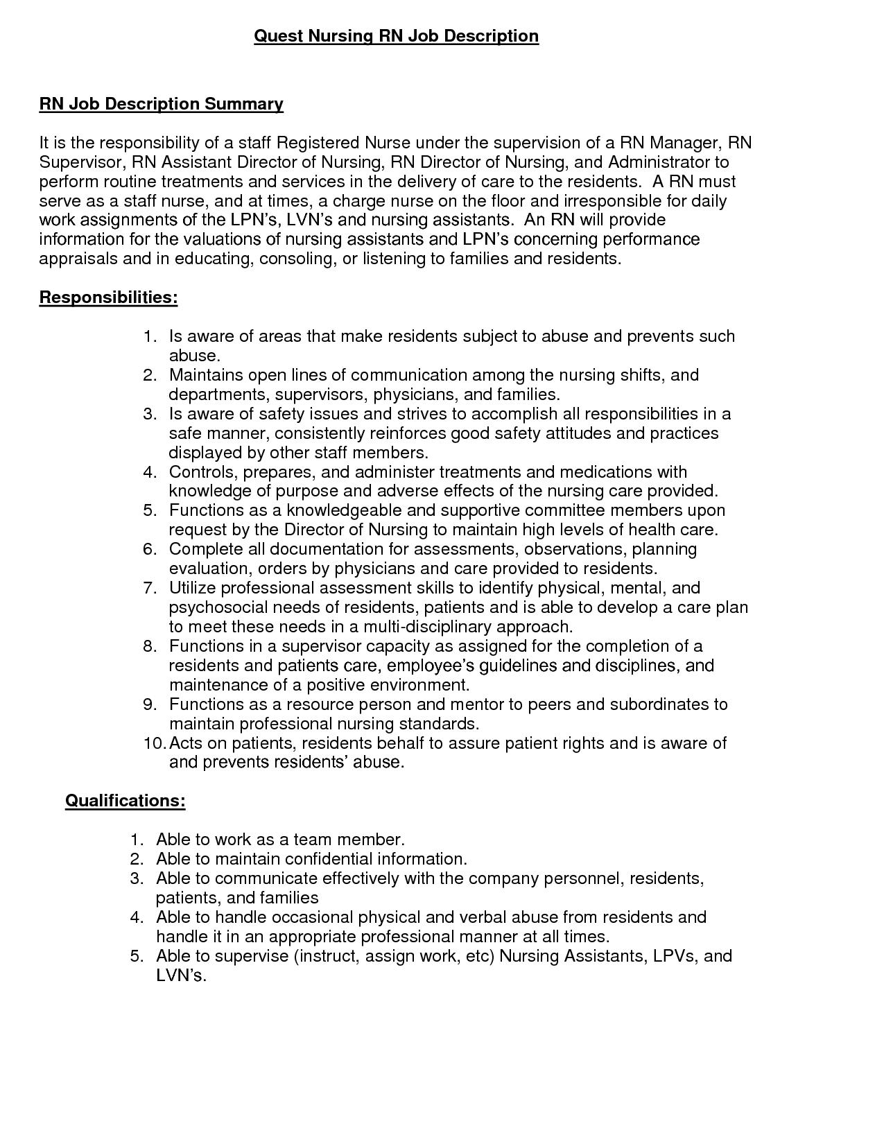 LaParis on emaze – Rn Job Description