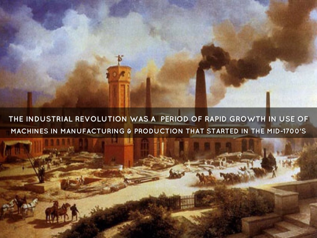 an analysis of the phases of industrial revolution that was started by the british This is especially useful with the industrial revolution  underpinning my analysis is the recent for 23% of global industrial production, british workers.