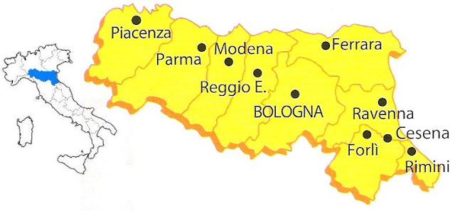 Emilia Romagna Cartina Province.Emilia Romagna E La By Alunnomalpeli On Emaze