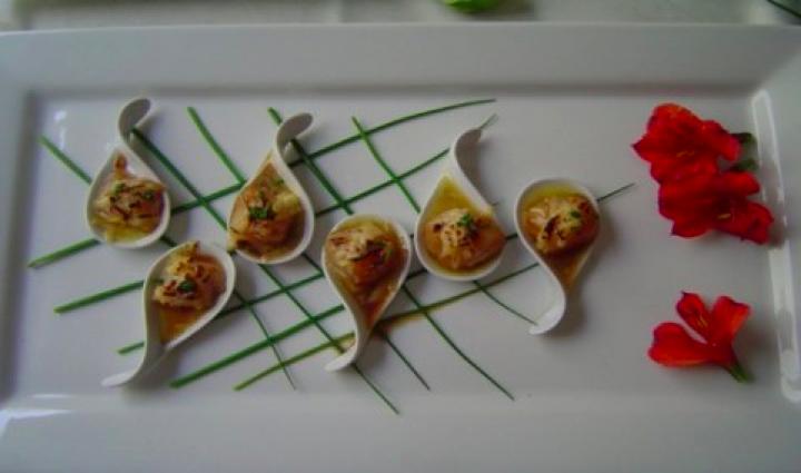 Pioneros de la gastronomia on emaze - Decoracion de platos ...