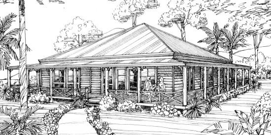 Floor Plans Queenslander Style Homes - Australian Homestead Style ...