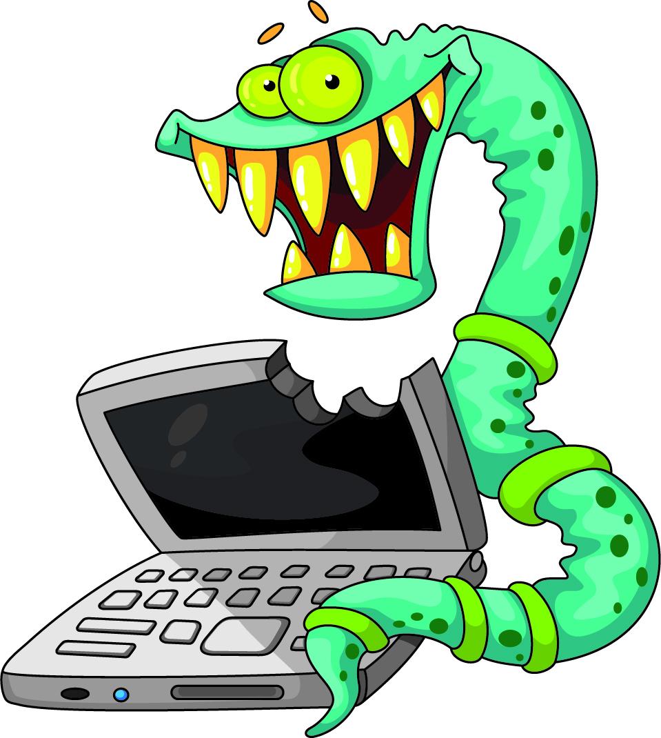 Los gusanos fueron otro tipo de malware muy dañino y muy extendido