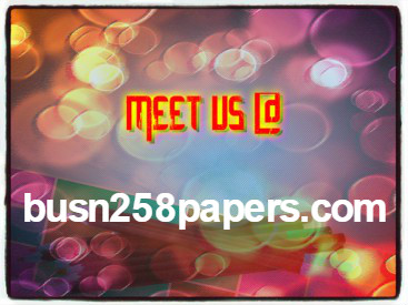 BUSN 258 PAPERS Success Secrets/ busn258papers com by george
