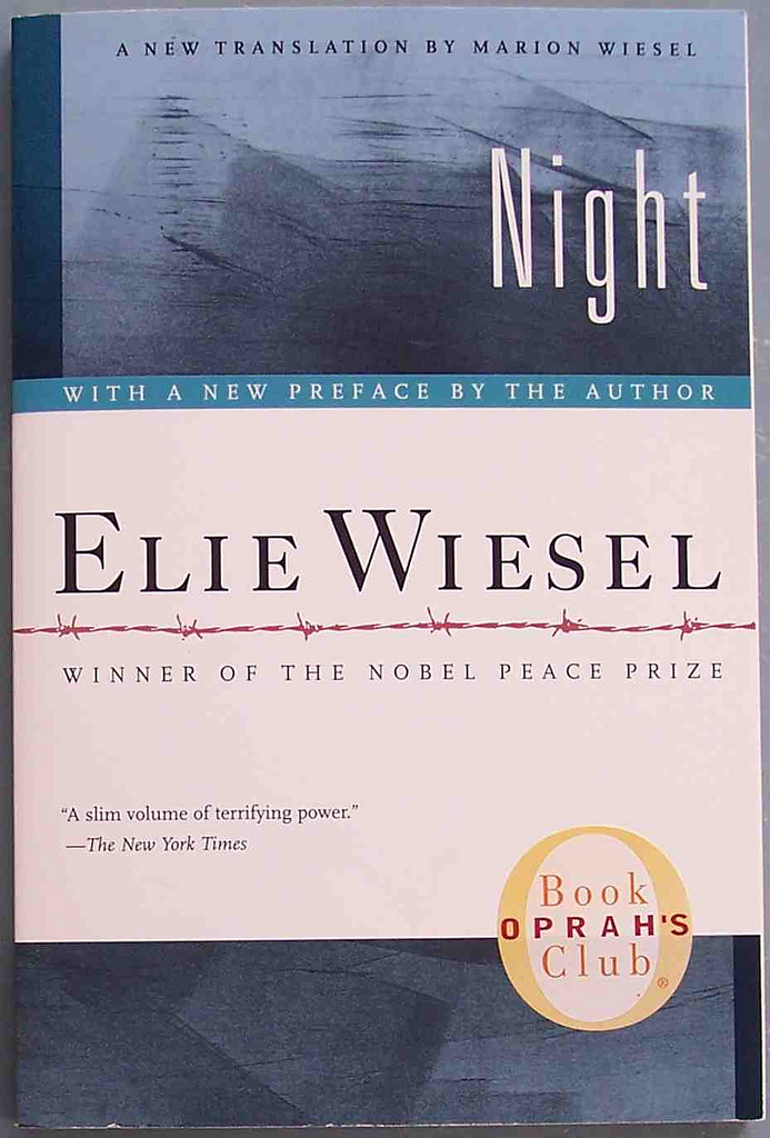 elie wiesel night book review Night elie wiesel buy wiesel and the critics the focus on night as a jeffrey burke of the new york times book review carries denunciation to greater.