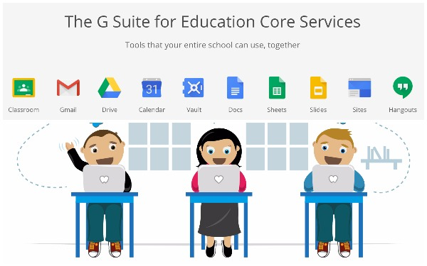 Logo GSuite for Education