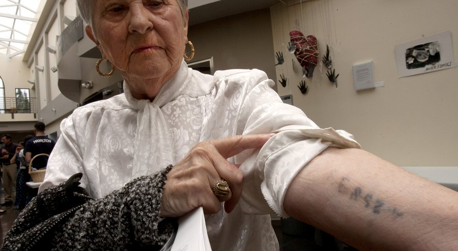 Holocaust Gas Chambers Survivors