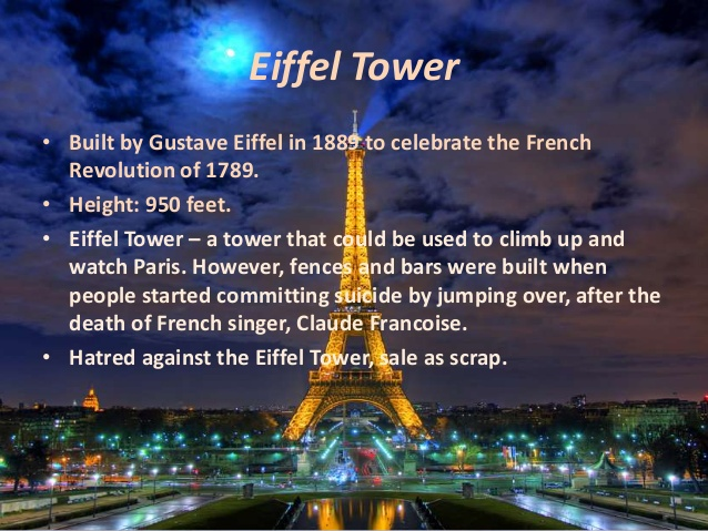 the eiffel tower by maxbaemax on emaze
