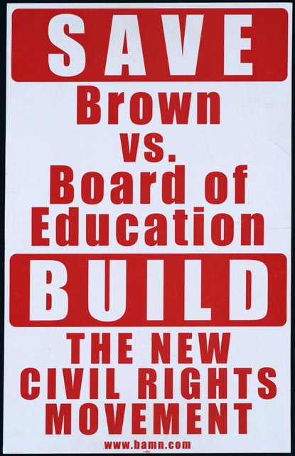 the importance of brown v the board The legacy of brown v board linda brown stands in front of the sumner school in topeka, kan, in this may 8, 1964 file photo the refusal of the public school to admit brown in 1951, then nine.
