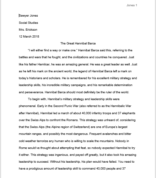 determination to succeed essay