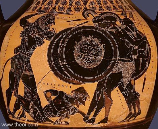an analysis of the ancient greek myth of hercules a demigod