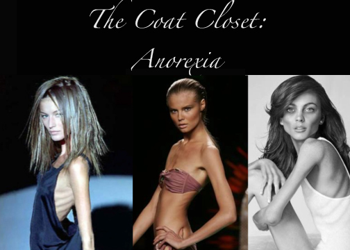 fashion industry and anorexia