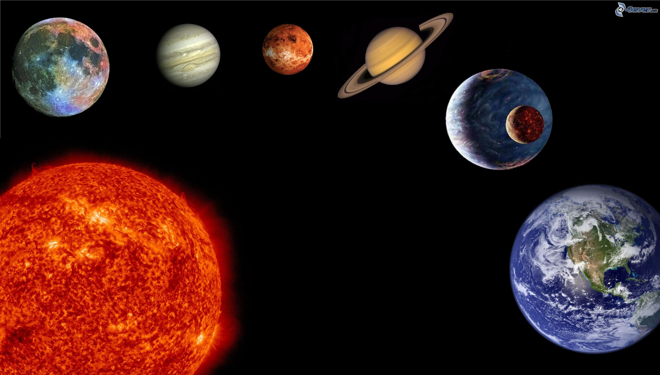 planets and solar system - HD2268×1289