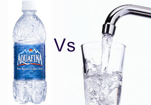 drinking tap water is better than bottled