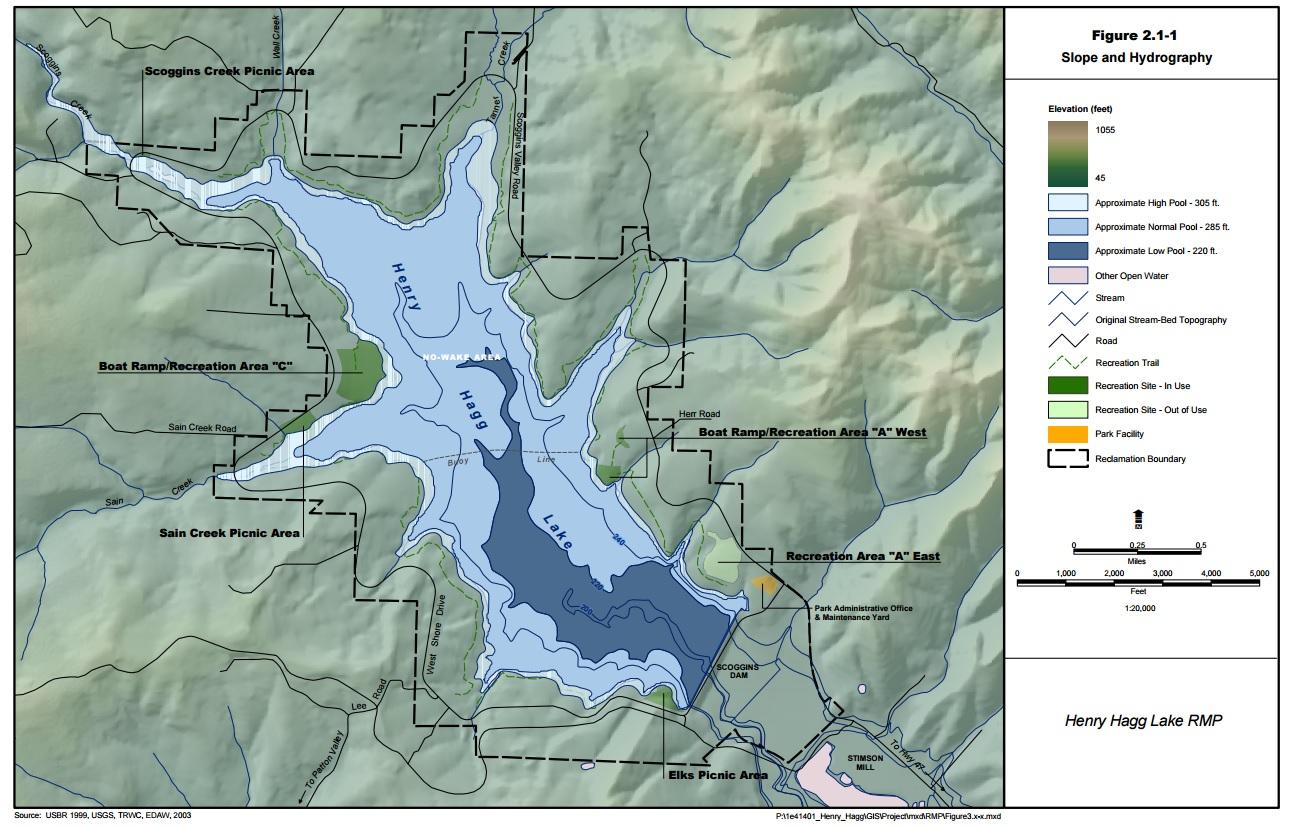 henry hagg lake map Henry Hagg Lake henry hagg lake map