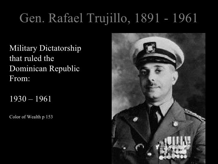 rafael trujillos dictatorship in the dominican republic