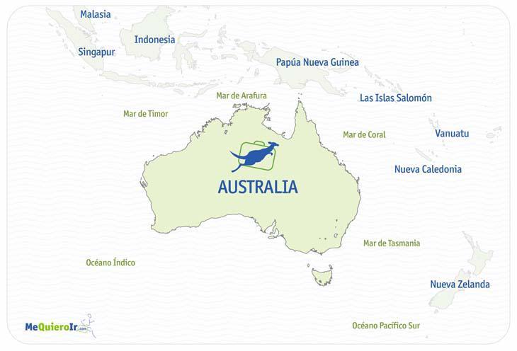 Mar De Tasmania Mapa.Australia By Danieladaleman On Emaze