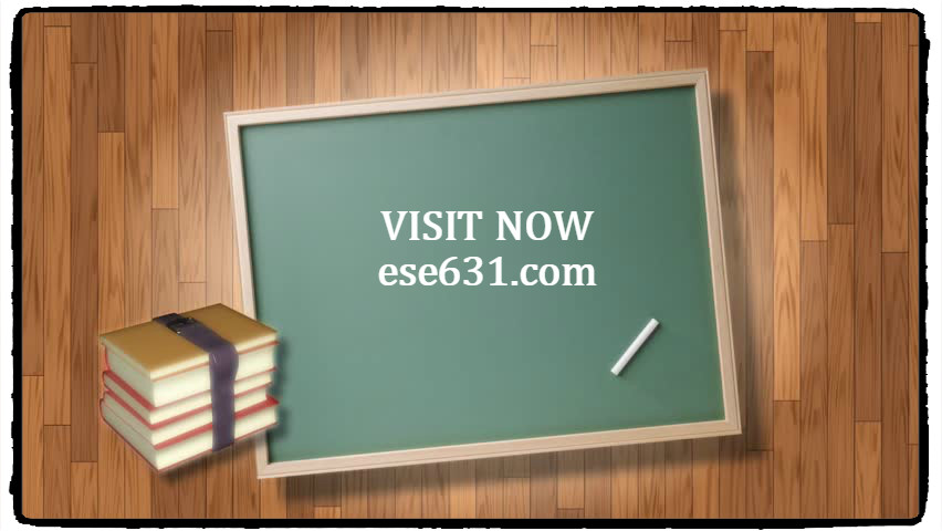 ESE 631 Course Extraordinary Education-snaptutorial.com