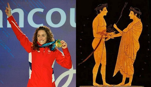 a comparison of the ancient olympic games and modern games Participation in the ancient olympic games was limited to male  here are the first women competitors in the modern olympic games of 1900, in chronological.