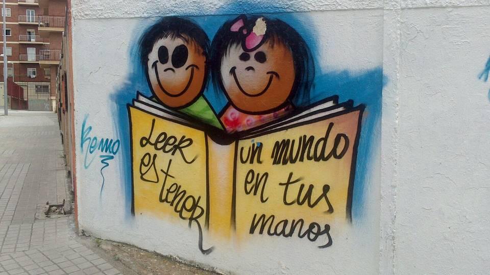 EL GRAFFITI FACILITA Y AYUDA A QUE TODOS TENGAN UNA TRIBUNA PARA PREDICAR SUS FILOSOFÍAS , MODOS DE SER Y VISIONES DEL MUNDO.