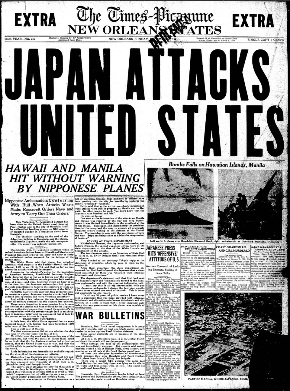 essay on why japan bombed pearl harbor This left americans in a state of extreme anger and aggression to an extent that they declared the world war ii against japan but why did japan attack pearl harbor.