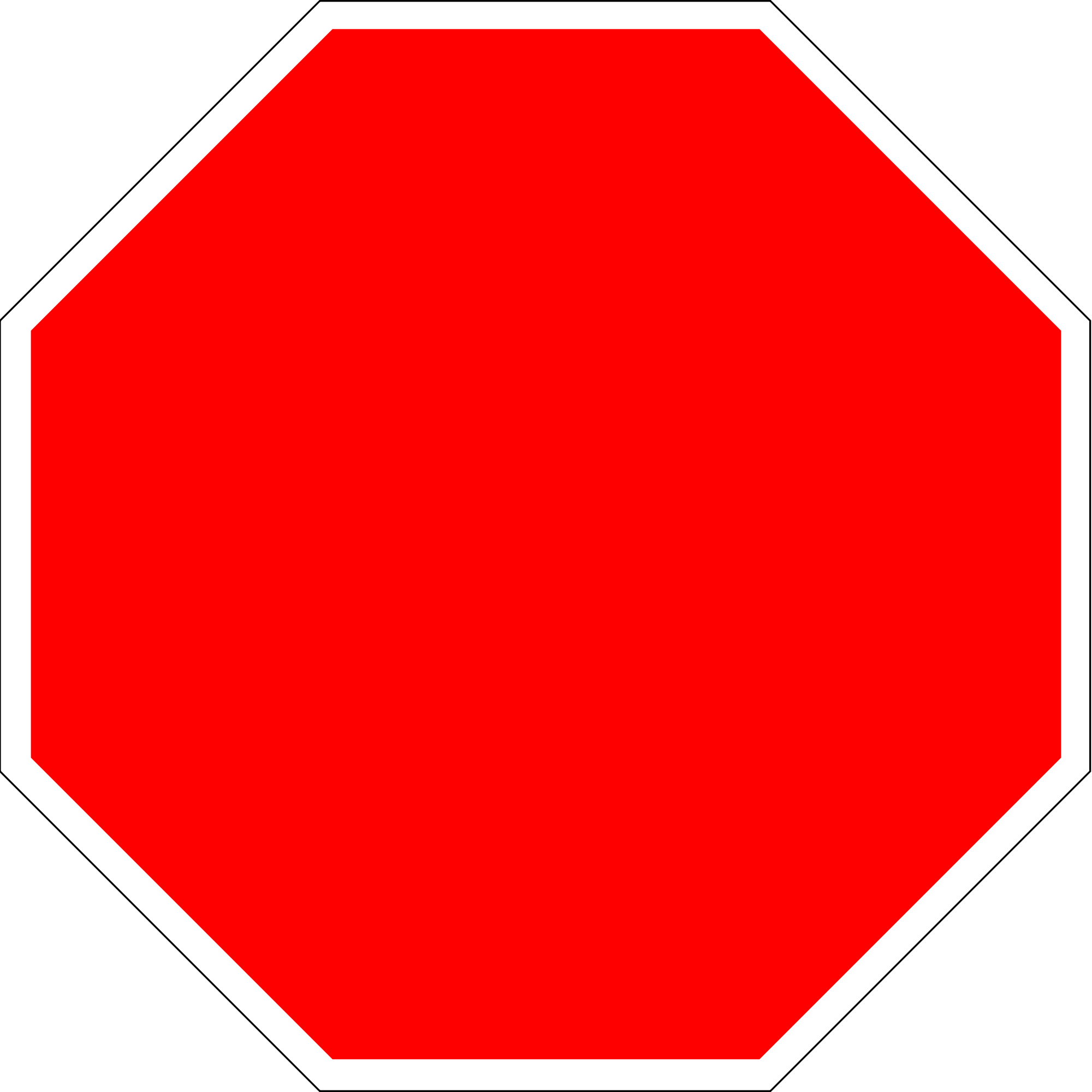 blank red stop sign wwwimgkidcom the image kid has it