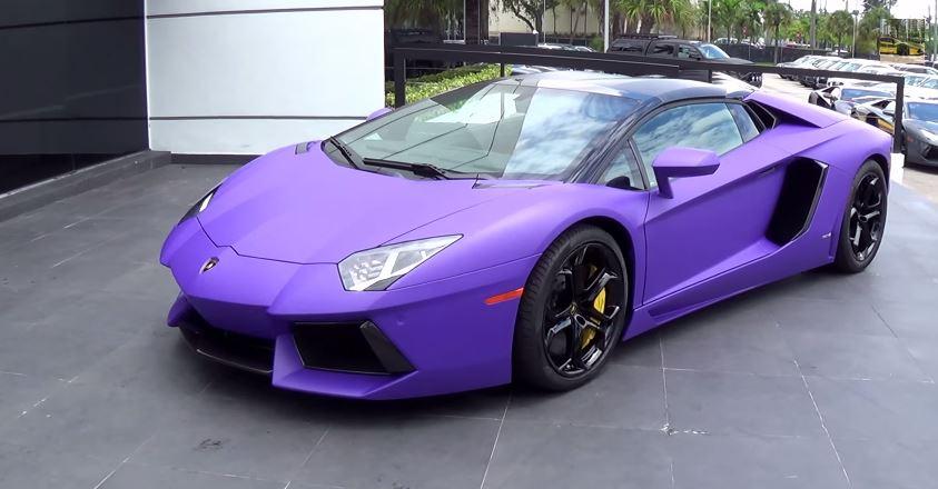 Purple Lamborghini Car Price Lamborghini Super Car