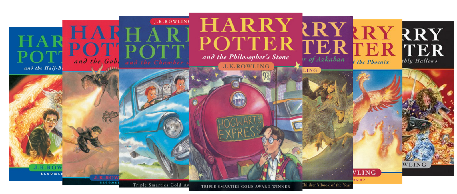 Image result for harry potter books