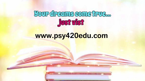 Psy 420 Edu Perfect Educationpsy420edu By Abraneaaliyah1234