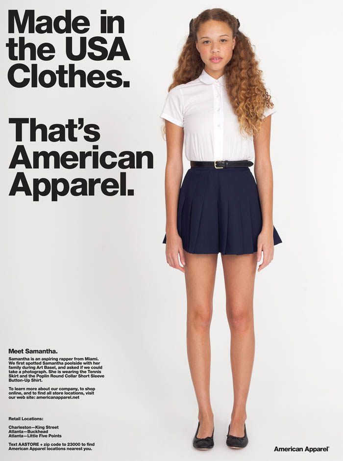 American Apparel For MassMediaEthics on emaze
