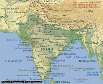 Cartina India Nepal.India By M Roversi On Emaze