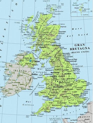 Cartina Fisica Del Regno Unito.Untitled