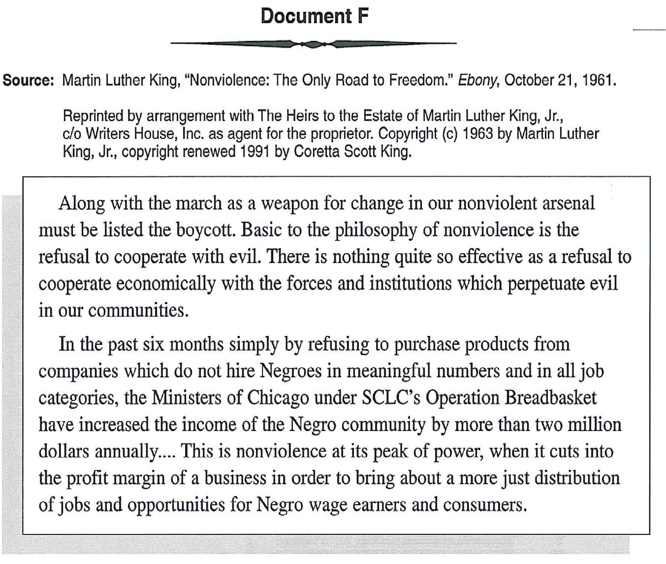 Thesis sentence on martin luther king letter from birmingham
