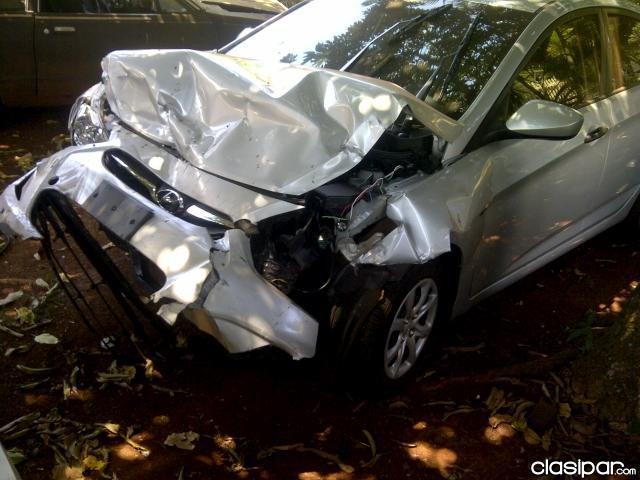 Accidente automovilistico en la ruta 68
