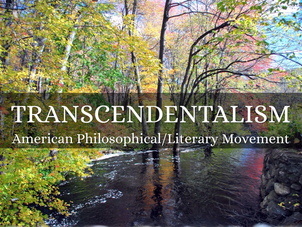 transendetalism paper Transcendentalism was a spiritual, philosophical, literary movement that took place in the boston area between the 1830s and late 1840s (buchanan 1.