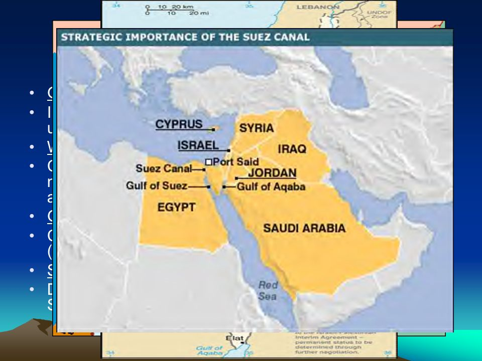 Countries Landforms Of SW Asia - Map of egypt landforms
