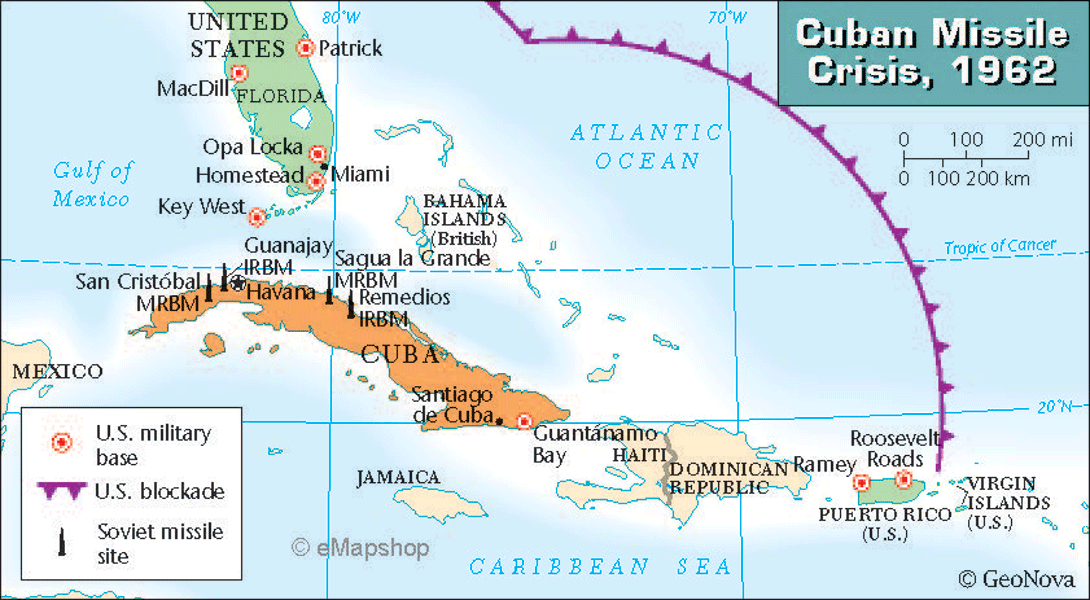 cuban missile crisis and united states Before we go into the details of the cuban missile crisis, it's important to understand the world's environment entering into october of 1962 in 1959, you have a revolution in cuba led by fidel castro.