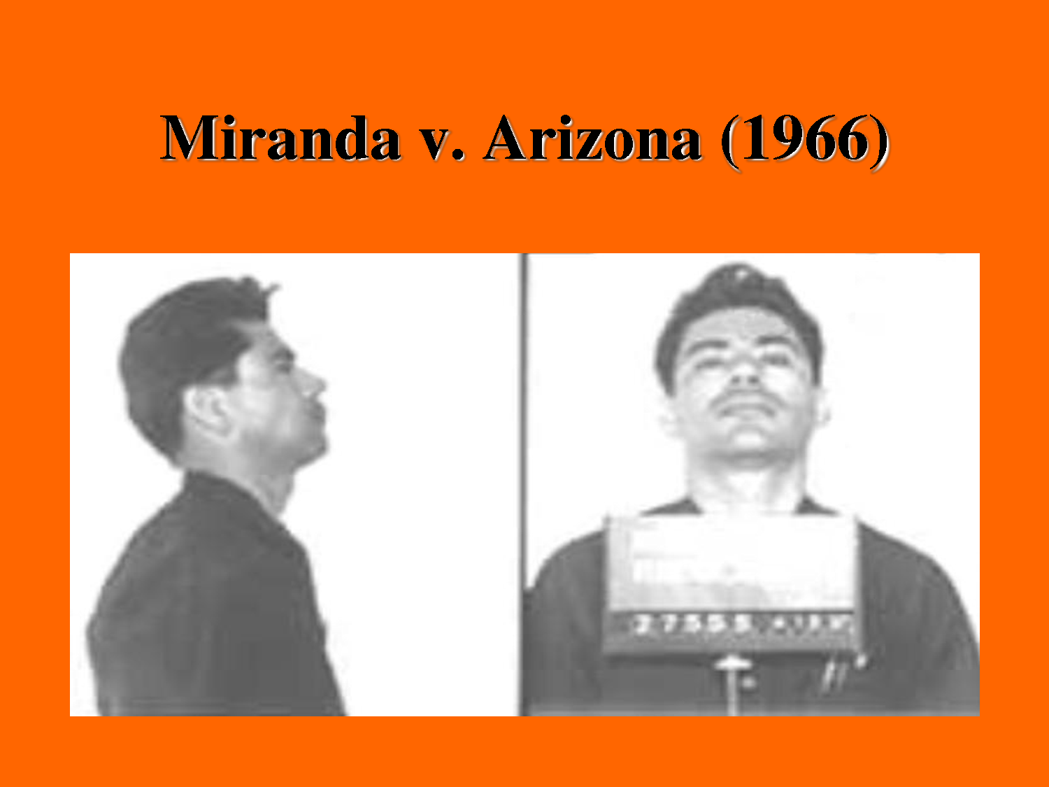 how has miranda v arizona changed the The miranda warnings have become a critical component of police interrogation policies officers must read them word for word, in case the suspect in custody should make any incriminating statements.