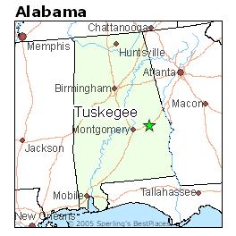 Map Of Tuskegee Tidal Treasures