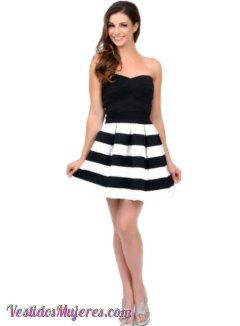 50c6cde907 Vestidos de moda cortos para jovenes – Vestidos baratos